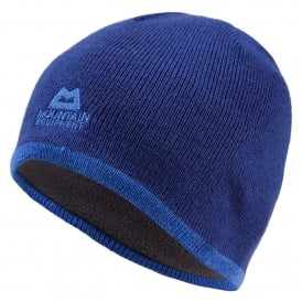Mens Plain Knitted Beanie Sodalite Blue
