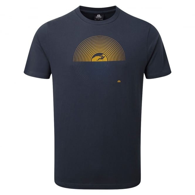 Mountain Equipment Mens Prism T-Shirt Ombre Blue