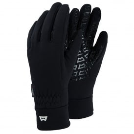 Mens TouchScreen Grip Glove Black