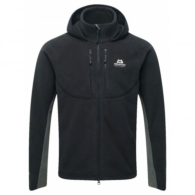 Mountain Equipment Mens Touchstone Fleece Jacket Black/Shadow Grey