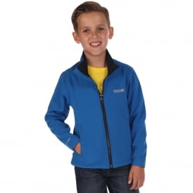 Boys Canto III Softshell Jacket Oxford Blue