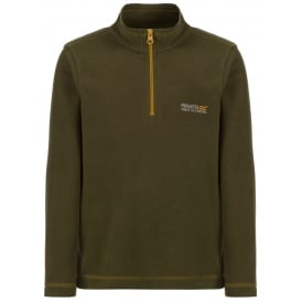 Boys Hotshot II Fleece Cypress Green