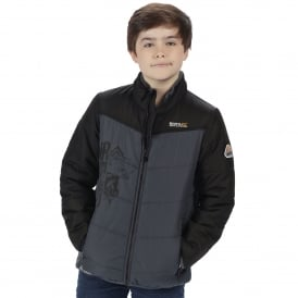 Boys Recharge Padded Jacket Black