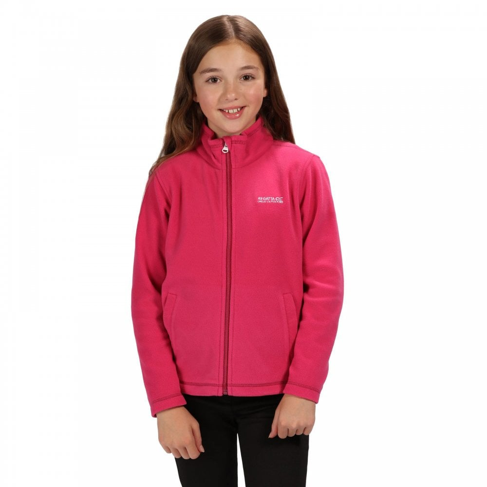 great quality cheap prices vast selection Regatta Girls King II Fleece Jacket Cabaret - Kids from Great ...