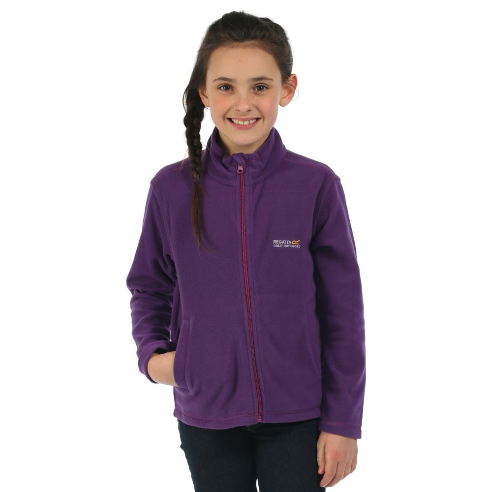 best wholesaler most popular united states Regatta Girls King II Fleece Jacket Juniper - Kids from Great ...