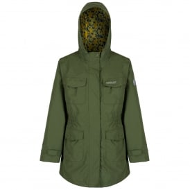 Girls Treasure II Parka Cypress Green