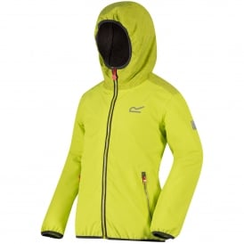 Girls Volcanics Jacket Lime