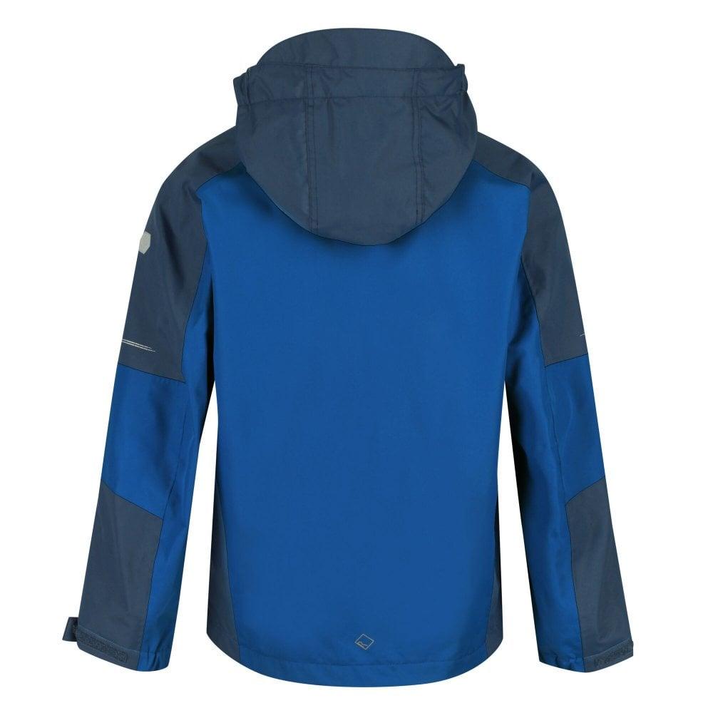 Regatta Calderdale II Waterproof Jacket Nautical Blue//Dark Denim