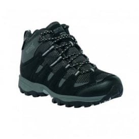 Kids Garsdale Mid Boot Black/Granite