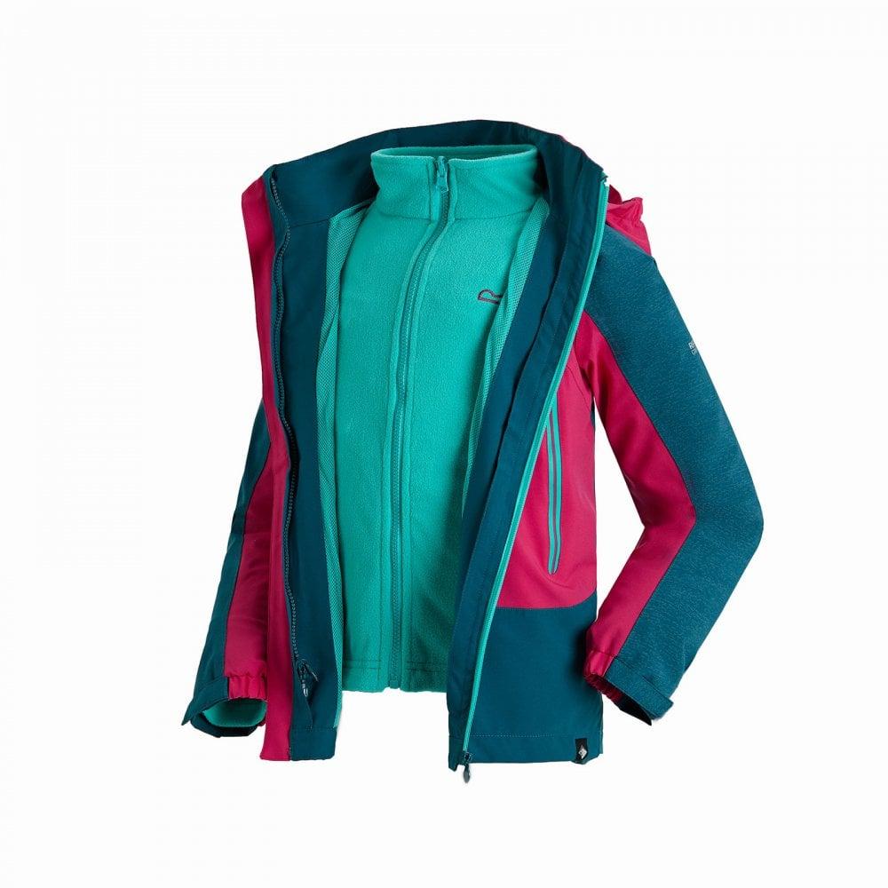 1ca13e1a4567 Regatta Kids Hydrate III 3 in 1 Jacket Moroccan Blue - Kids from ...