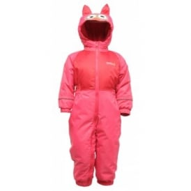 Kids Mudplay Suit Jem/Dark Cerise Owl