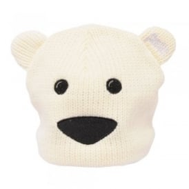 Kids Rory Animal Hat Polar Bear