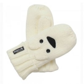 Kids Rory Animal Mitts Polar Bear