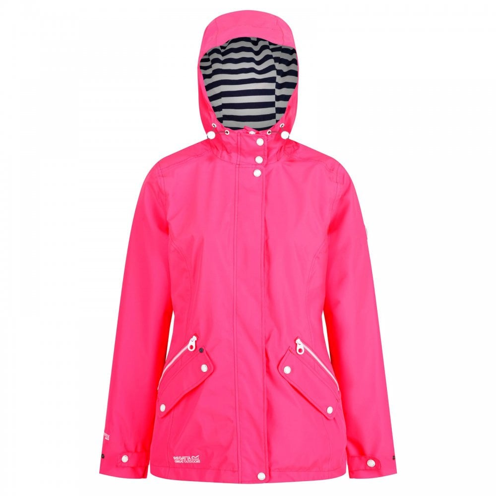 Regatta Ladies Basilia Jacket Neon Pink - Ladies from Great Outdoors UK 7b483d5c3ae0e