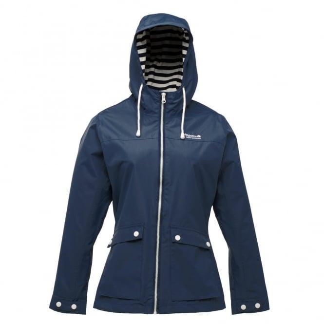 Regatta Ladies Navy Bayeux Waterproof Jacket