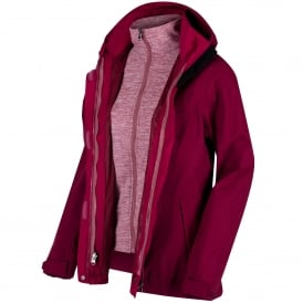 Ladies Calyn Stretch 3-1 Jacket Pimento