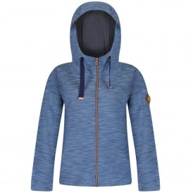 Ladies Closinda Fleece Denim Blue
