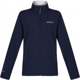 Ladies Connie III Softshell Jacket Navy/Polar Bear