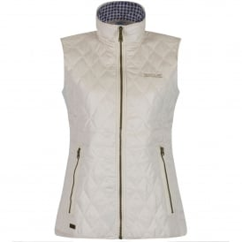 Ladies Cosmia Quilted Bodywarmer Light Vanilla