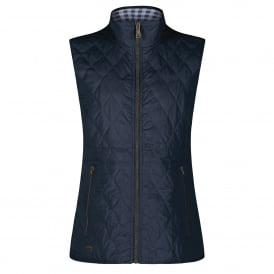 Ladies Cosmia Quilted Bodywarmer Navy