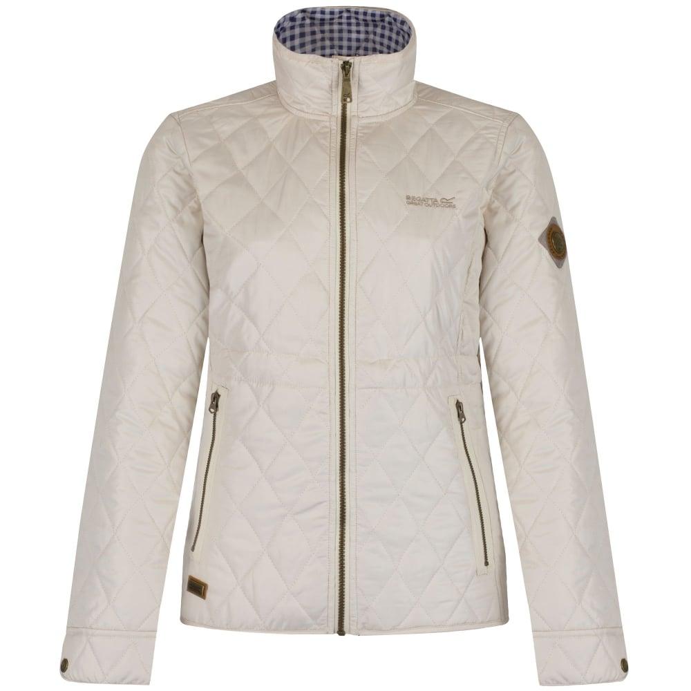 Regatta Ladies Cosmia Quilted Jacket Light Vanilla - Ladies from ... : quilted jacket for ladies - Adamdwight.com