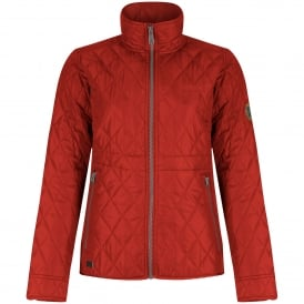 Ladies Cosmia Quilted Jacket Molten