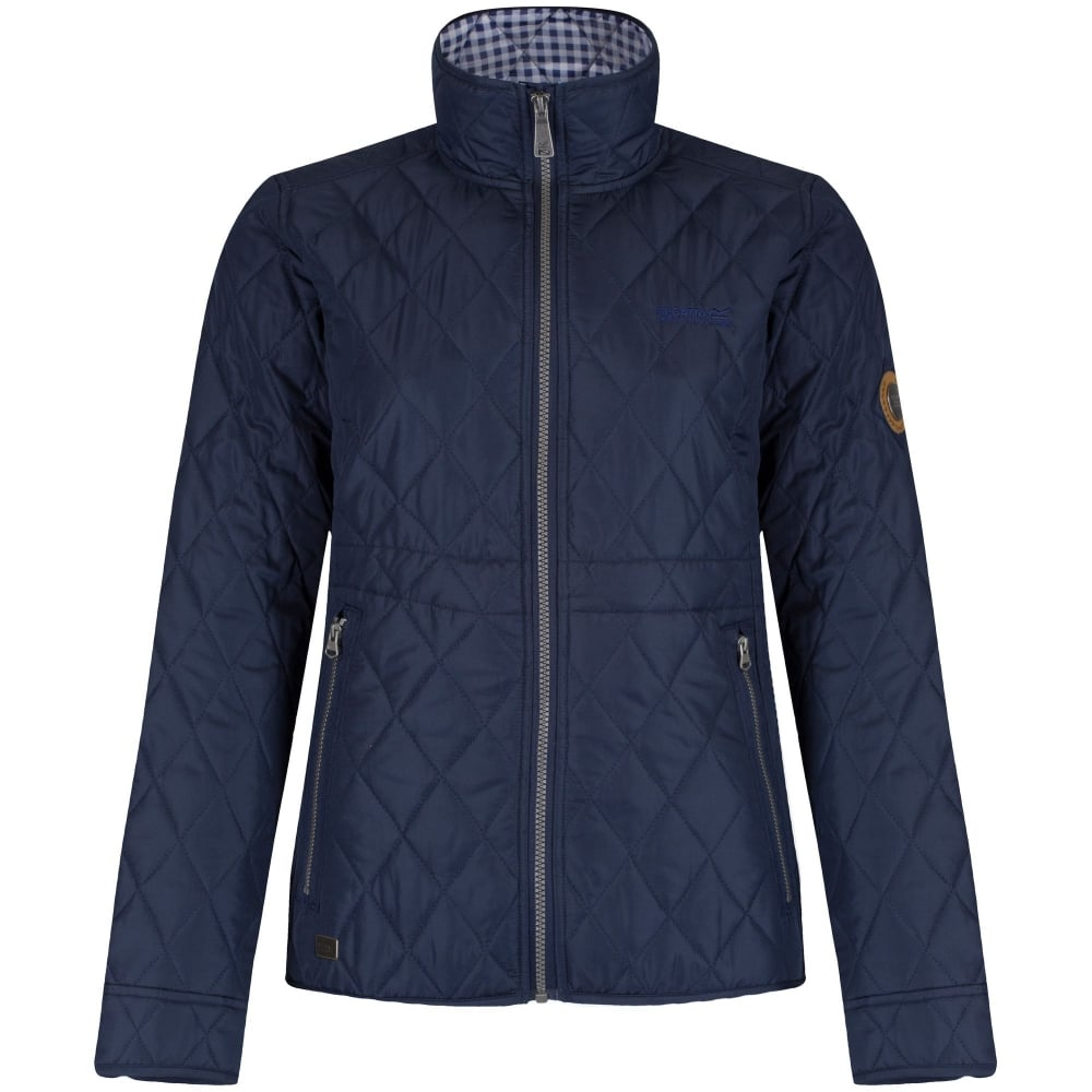 Regatta Ladies Cosmia Quilted Jacket Navy - Ladies from Great ... : quilted ladies jacket - Adamdwight.com