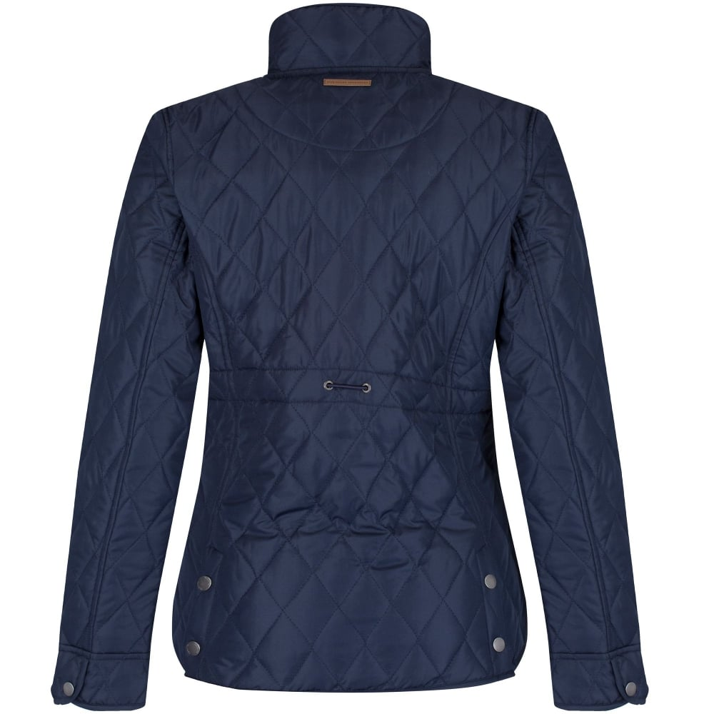 Regatta Ladies Cosmia Quilted Jacket Navy Ladies From Great