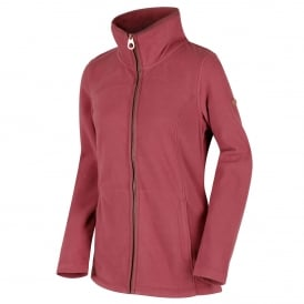 Ladies Fayona Fleece Deco Rose