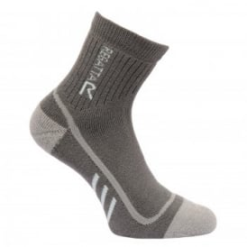 Ladies Heavyweight Trek & Trail Sock Granite/Yucca