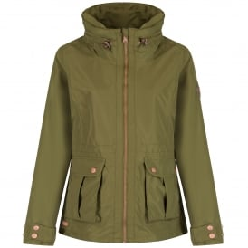 Ladies Nardia Jacket Utility Green
