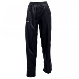 Ladies Pack-It Overtrousers Black