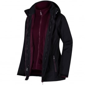 Ladies Premilla 3-1 Jacket Black