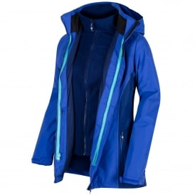 Ladies Premilla 3-1 Jacket Dazzling Blue