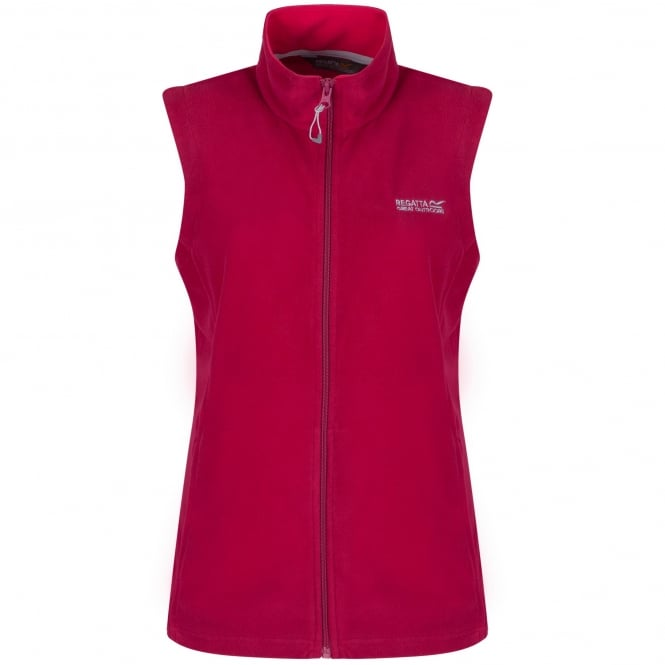 Regatta Ladies Sweetness II Bodywarmer Dark Cerise/Duchess