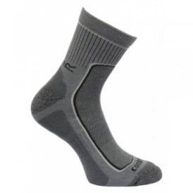 Mens 2 Pair Active Lifestyle Sock Denim
