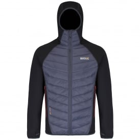 Mens Andreson II Hybrid Jacket Black/Grey