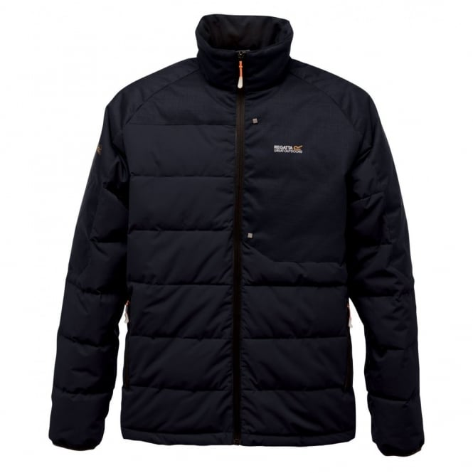 Regatta Mens Carmichael Down Jacket Black