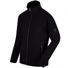 Mens Castiel Softshell Black