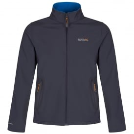 Mens Cera III Softshell Jacket Iron/Oxford Blue