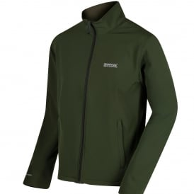 Mens Cera III Softshell Jacket Racing Green/Ivy Green