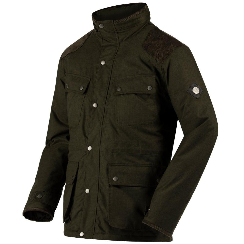 Regatta Mens Ellsworth Jacket Dark Khaki Mens From Great Outdoors Uk