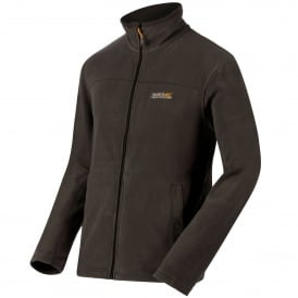 Mens Fairview Fleece Jacket Seal Grey