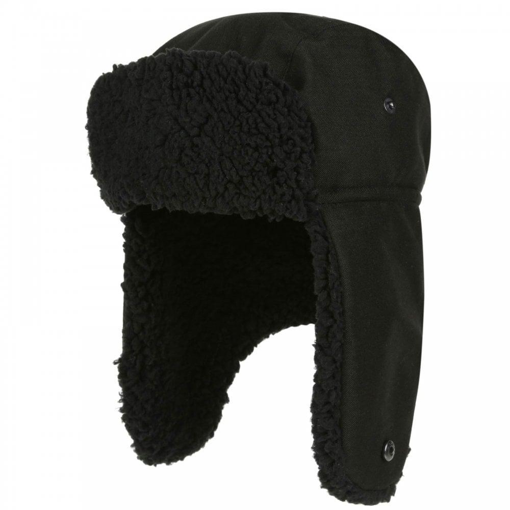 580f28679e4a9 Regatta Mens Halian Trapper Hat Black - Mens from Great Outdoors UK