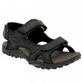 Mens Haris Sandal Black