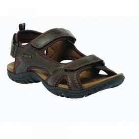 Mens Haris Sandal Peat
