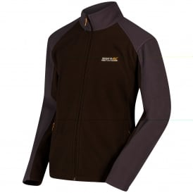 Mens Hedman II Fleece Jacket Chocolate/Iron