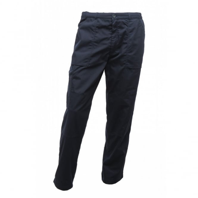 Regatta Mens Lined Action Trousers Navy