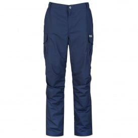 Mens Lined Delph Trousers Navy