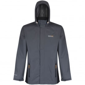 Mens Matt Jacket Seal Grey